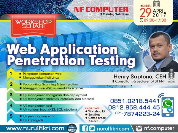 Workshop Web Application Penetration Testing (WAPT)