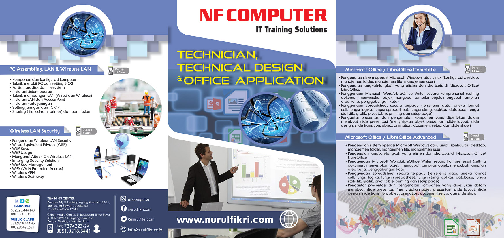 Brosur Technician, Technical Design & Officel Aplication A