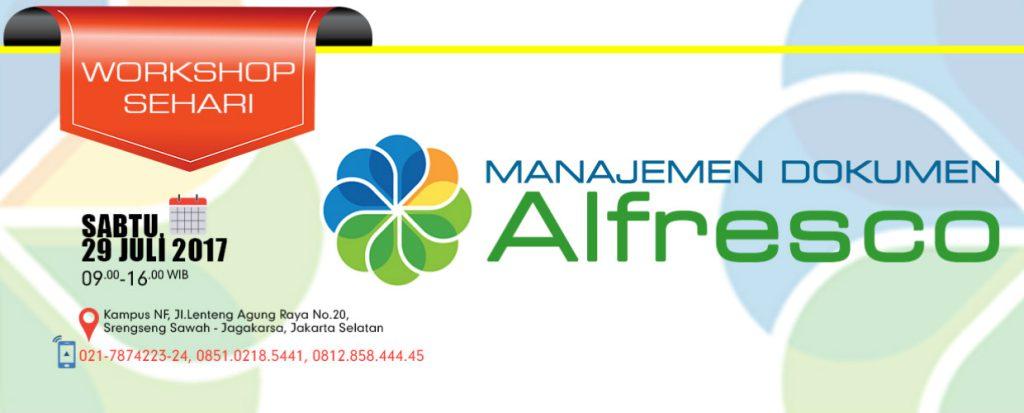 Workshop Sehari Alfresco
