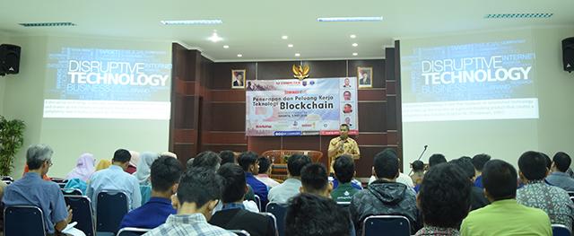 Seminar Penerapan Dan Peluang Kerja Teknologi Blockchain