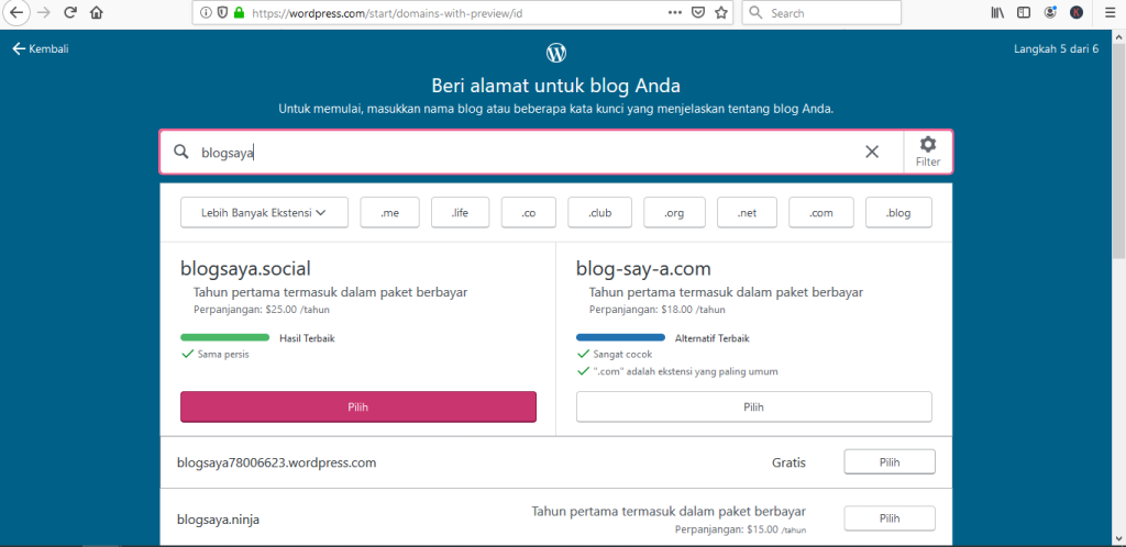 Cara Membuat Blog: WordPress