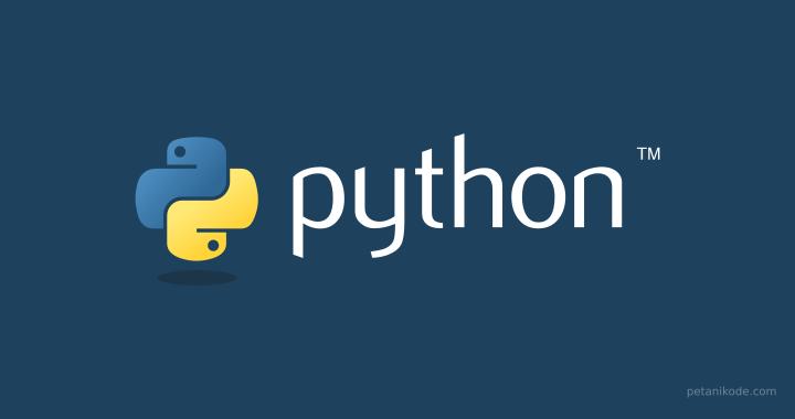 Bahasa Pemrograman Python