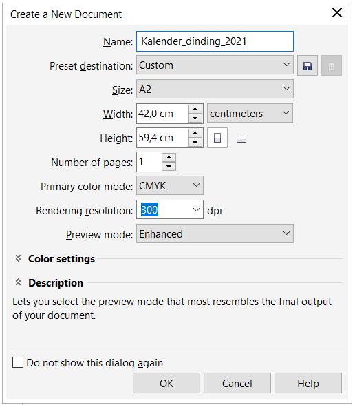 Cara Membuat Kalender di CorelDRAW