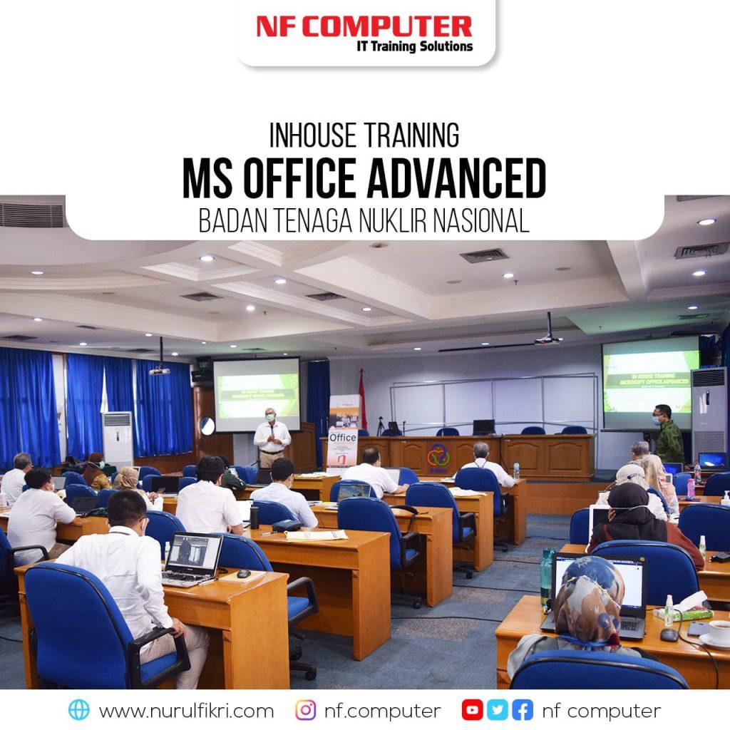 Pembukaan Inhouse Training Ms Office Advanced - BATAN