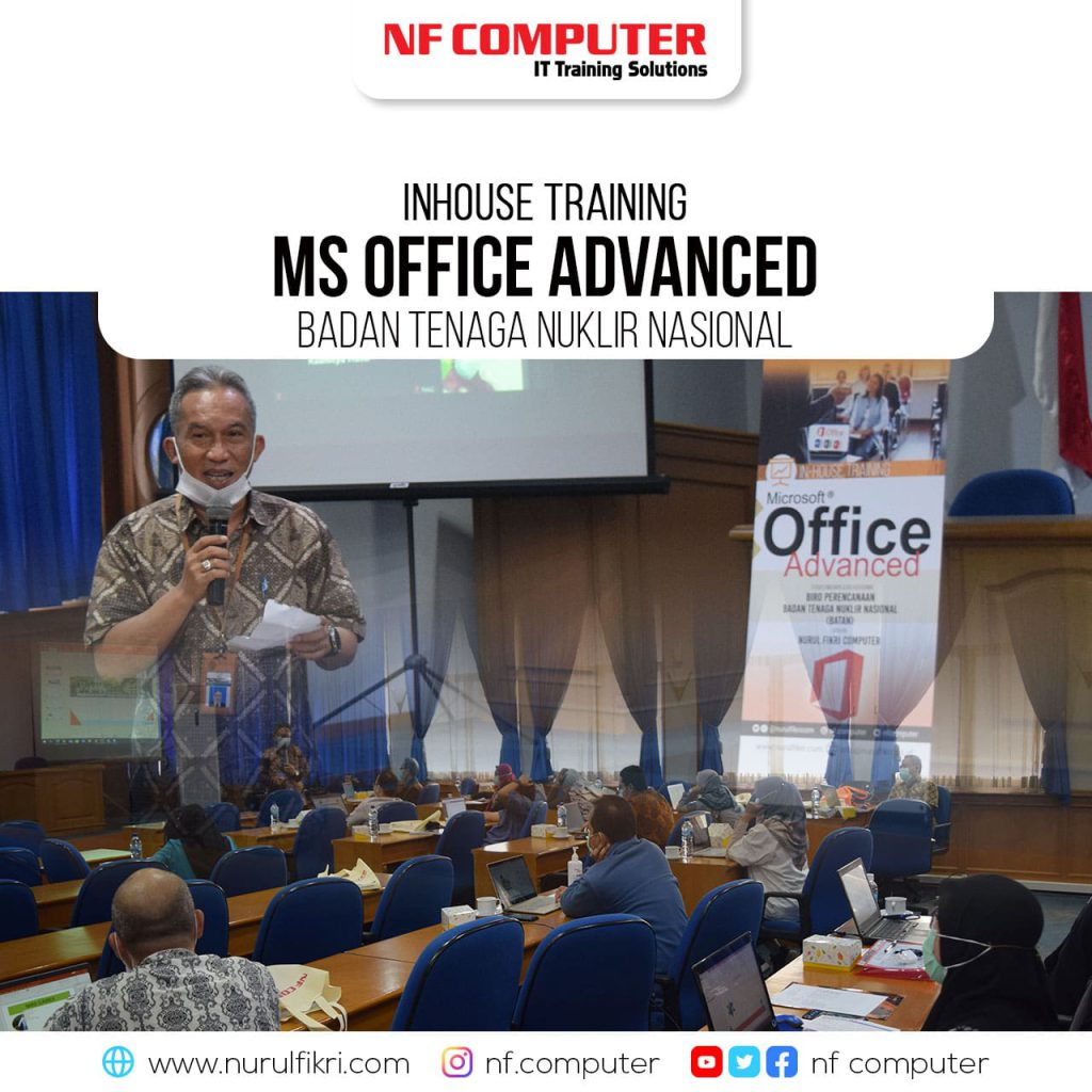 Penutupan Inhouse Training Ms Office Advanced – BATAN